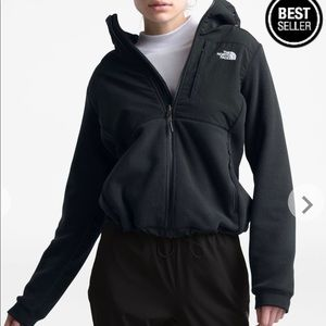 Woman's North face hooded fleece